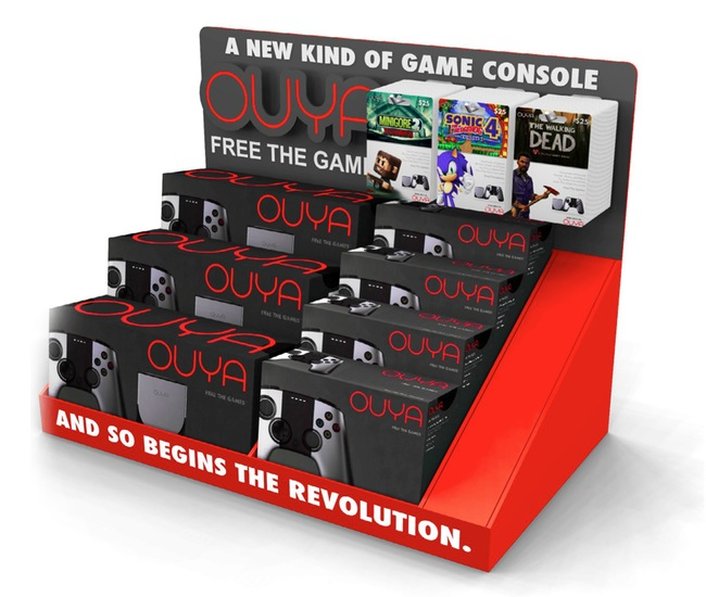 Ouya Games Console Arrives At Target Stores