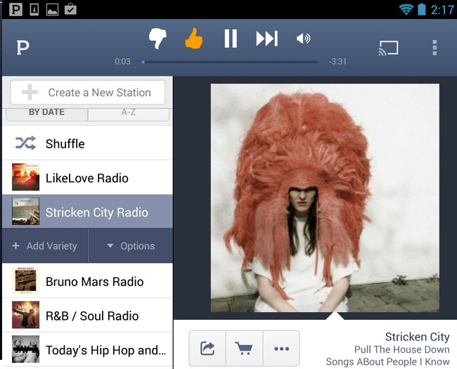 Pandora Android Tablet App Finally Launches Within Version 5 Update