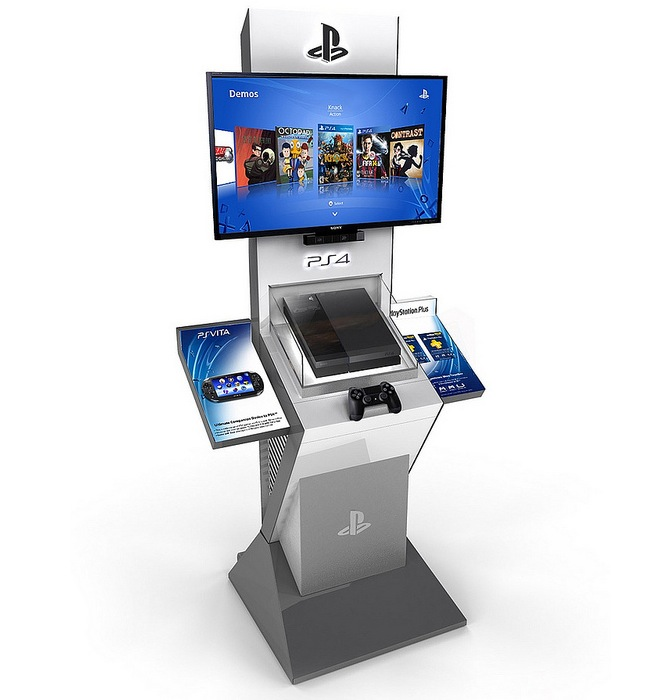 PlayStation 4 Demo Kiosks