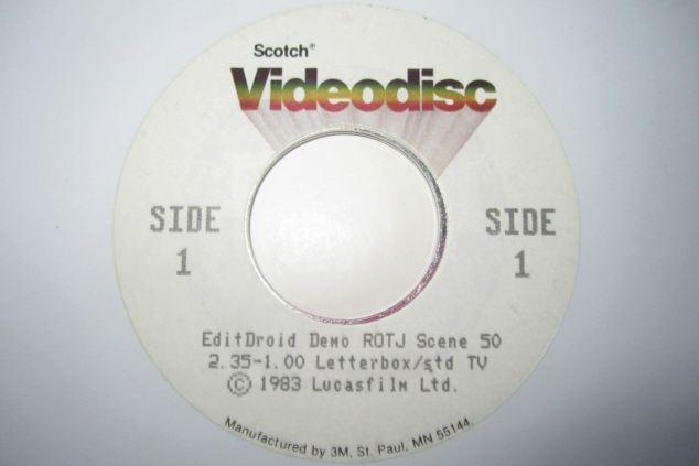 ROTJ Laser Disc