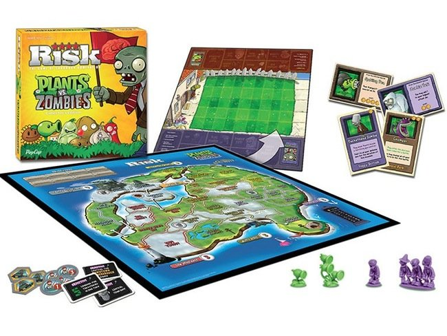 Risk Plants Vs Zombies Board Game Now Available