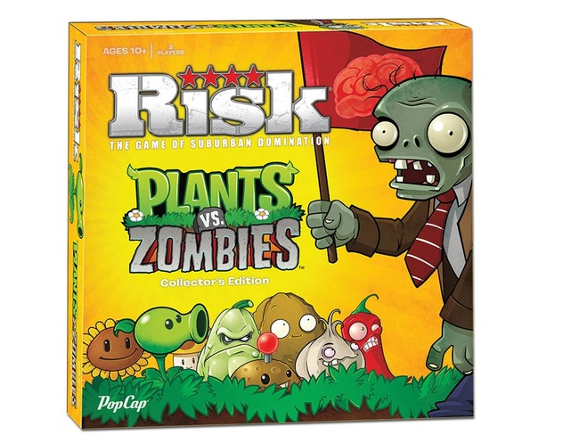Risk Plants vs Zombies Board Game
