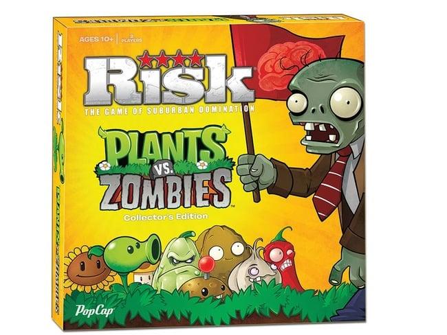 Risk Plants vs Zombies Board Game