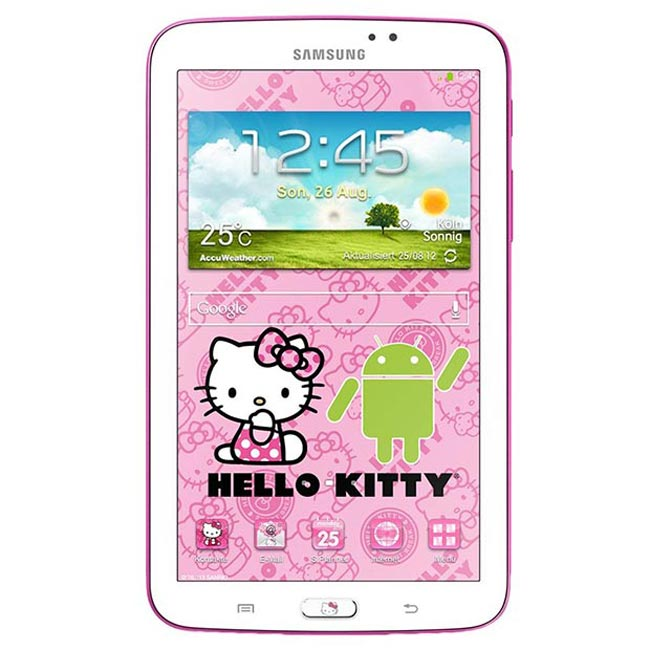 Samsung Galaxy Tab 3 7.0 Hello Kitty Edition Announced