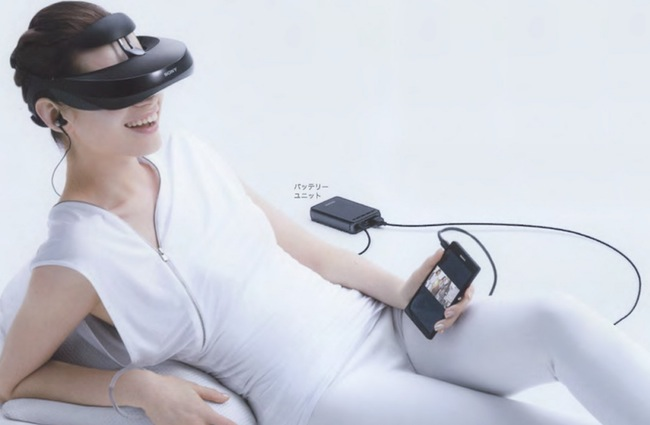 Sony HMZ-T3W Personal 3D Viewer Now Available to Pre-Order For $999
