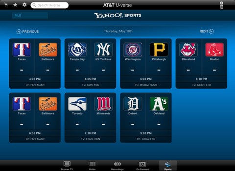 U Verse Adds Live Tv Streaming To Internet And Ipad