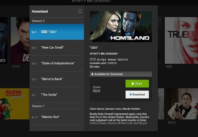 Xfinity TV Player Android