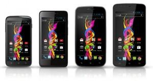 Four Archos Titanium Android Jelly Bean Smartphones Announced
