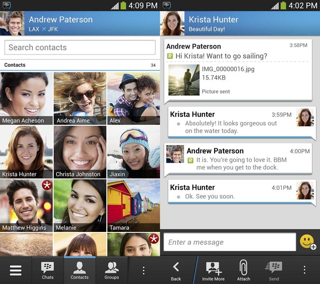 BBM For iOS And Android Hits 5 Million Downloads In 8 Hours