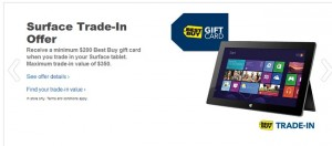 Best Buy Launches Surface Trade-in Program