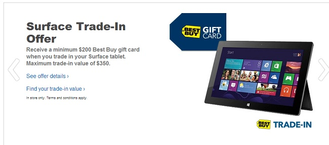 Best Buy Surface Trade-in