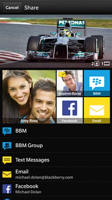 BlackBerry OS 10.2 Update