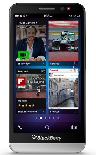Verizon BlackBerry Z30
