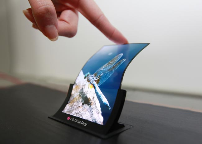 Flexible Smartphone Display