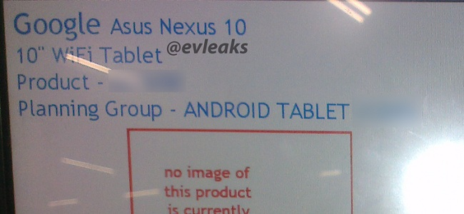 google-nexus 10