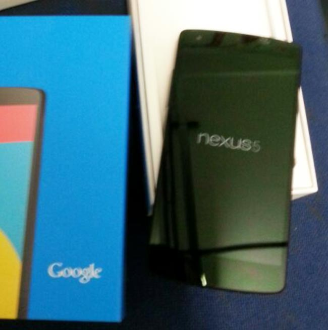 Google Nexus 5 Expected To Be Announced Today