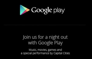 Google Play Event Scheduled for October 24th, Won't Include Any Hardware Announcement