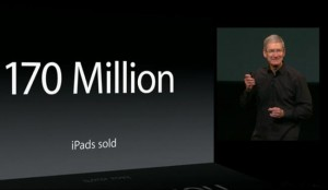 Apple Has Sold 170 Million iPads, Has 81 Percent Share Of Tablet Usage