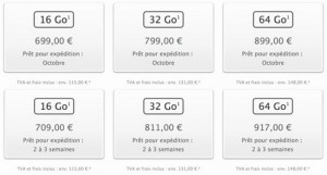 iPhone 5s and 5c prices go up in France