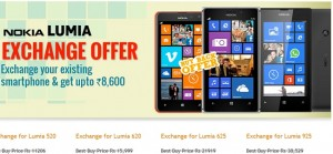 Exchange Your Old Smartphone For Lumia Device (India Only)