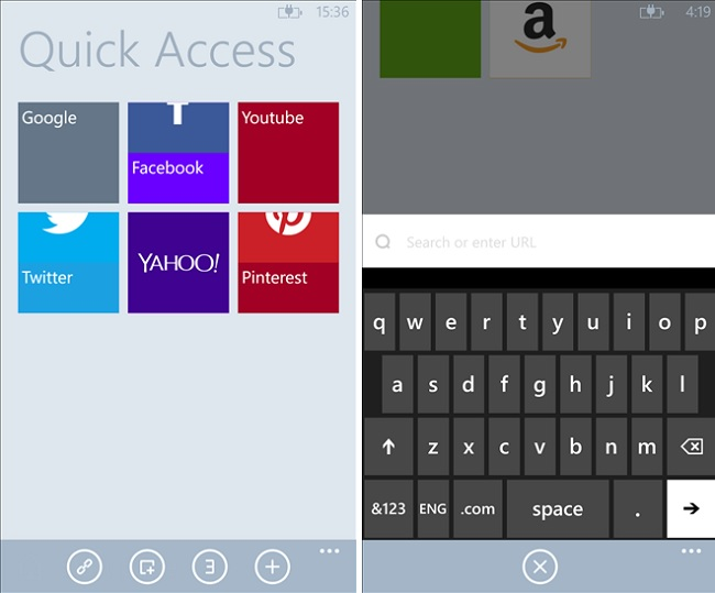 Maxthon Browser Windows Phone
