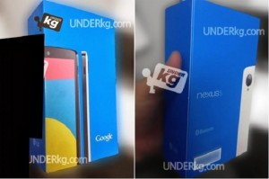 Nexus 5 Retail Packing Leaked in White