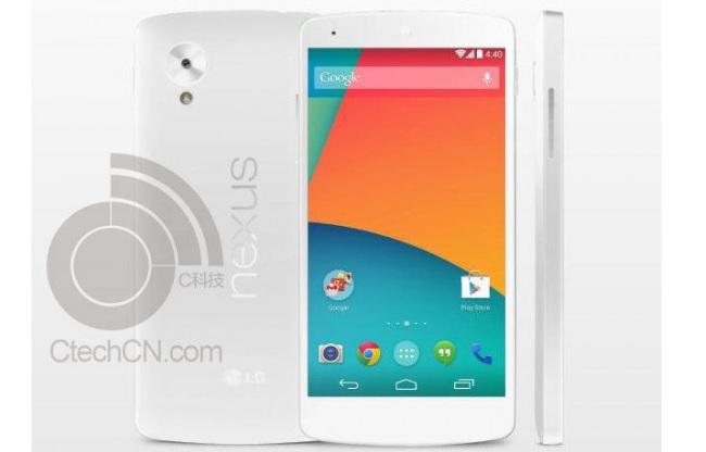 White Nexus 5