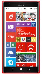 More Nokia Lumia 1520 Specifications Revealed