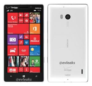 White Nokia Lumia 929 For Verizon Leaked
