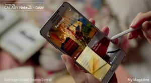 Galaxy Note 3 And Galaxy Gear TV Advert Released (Video)