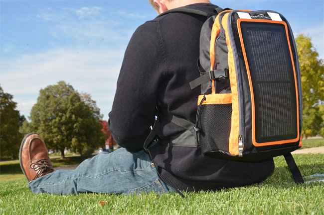 EnerPlex Packr Backpack Keeps Your Gadgets Going with a Built-In Solar Charger