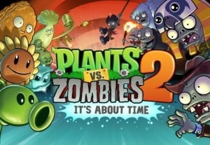 Plants Vs Zombies 2 for Android Available in Google Play Store