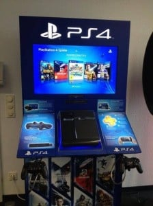 Sony PS4 Demo Pod Spotted