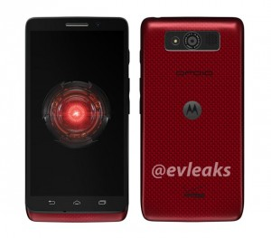 Red Motorola Droid Mini For Verizon Leaked