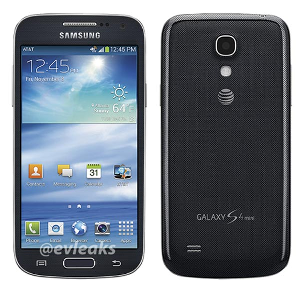 Samsung Galaxy S4 Mini Specifications Leaked