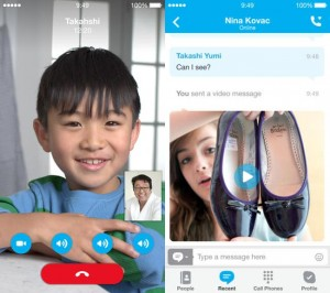 Skype Updated For Apple's iOS 7
