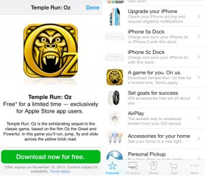 Temple Run Oz Available for Free From Apple Store App