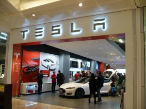 Tesla Launches Its First Showroom In The UK