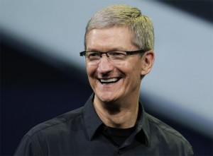 Tim Cook Tweets About Apple Spaceship Campus