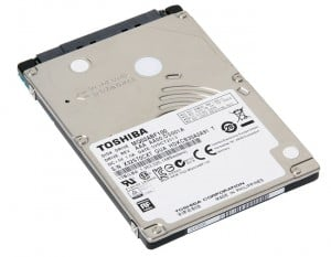 Toshiba MQ02ABF HDD is 7 mm Thick with 1TB of Storage