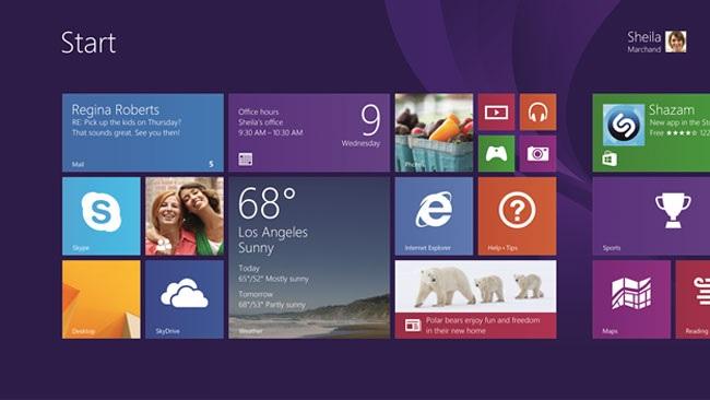 Windows rt 8.1 update