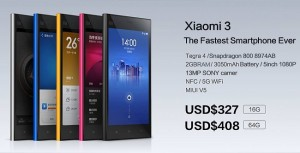 Xiaomi MI3 Tegra 4 Version to Go On Sale From October 15th
