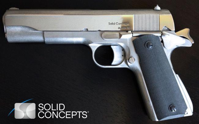 3D Printed Metal Gun