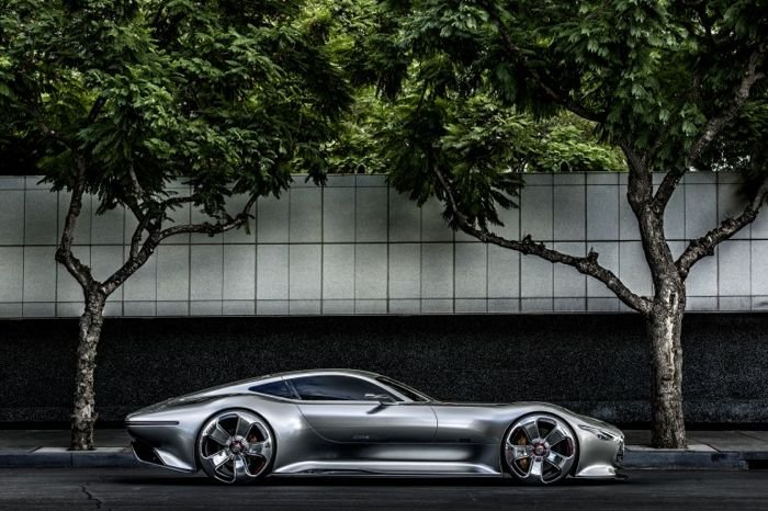 Mercedes Benz AMG Vision Gran Turismo Concept Unveiled