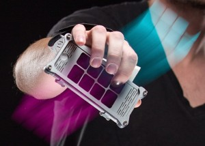 AUUG Motion Synth iPhone Grip Transforms Movement into Music (video)