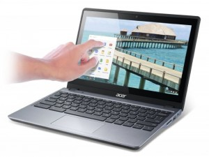 Acer C720 Chromebook Gets A Touchscreen Option