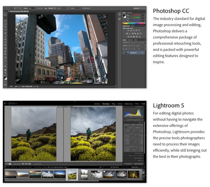 Adobe Photography Program