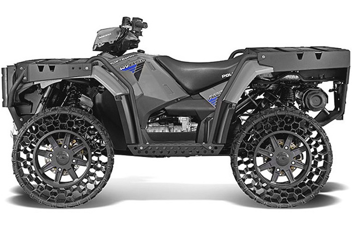 Airless-Tire ATV