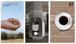 Worlds First All-in-one Coffee Machine Roasts, Grinds And Brews (video)