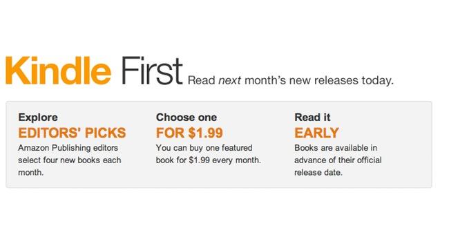Amazon Kindle First